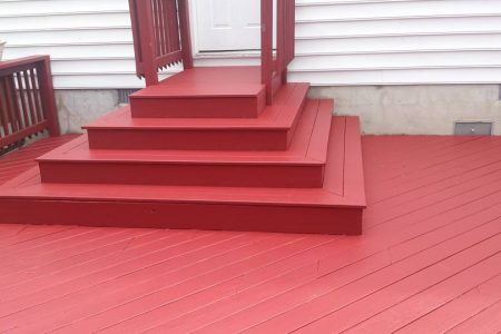 decks with steps, Johnson home improvements