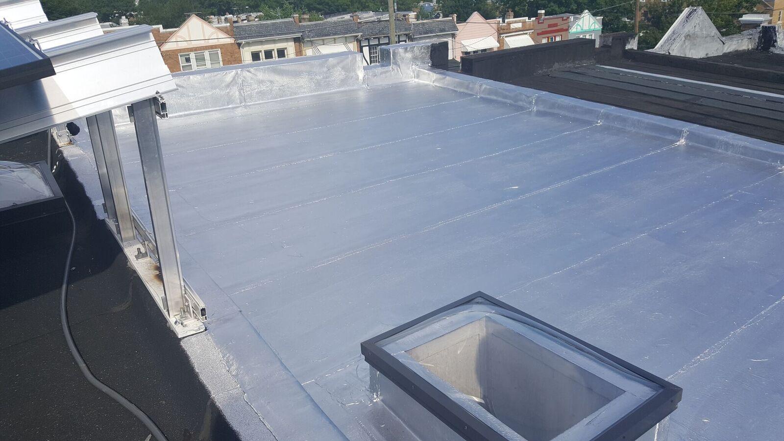 pretty flat roof