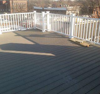 flat roof decks